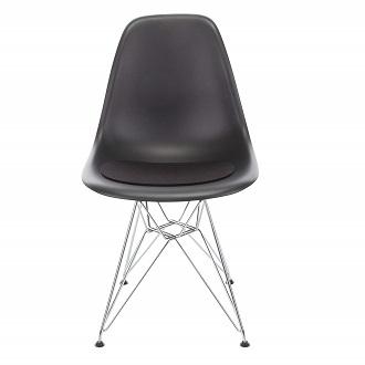 replica eames negra silla