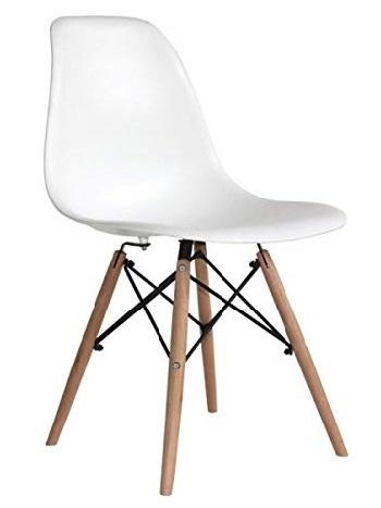 réplica silla Eames DSW blanca