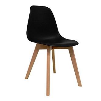 sillas eames negras baratas